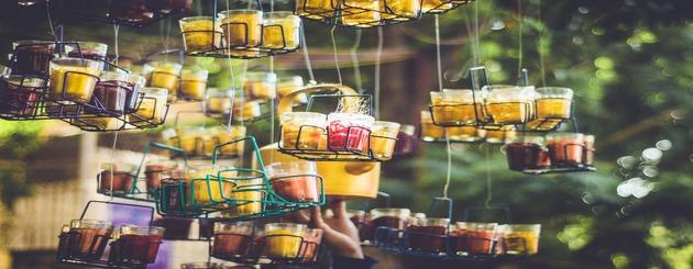 pots de thé