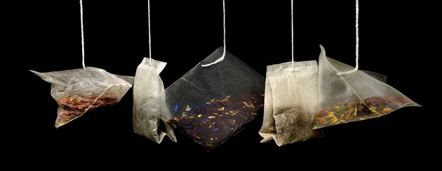pochons de thé